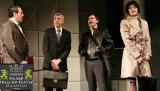 """Постановката """"Шведска защита""""в Малък градски театър Зад канала на 7 Март от 19:00 часа, само за 10лв."""