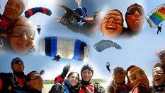 Вдигни адреналина на макс! Тандемен скок с парашут - за 335лв, от Клуб по парашутизъм и парапланеризъм Парасоф