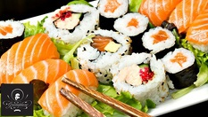 Суши сет с 38 хапки