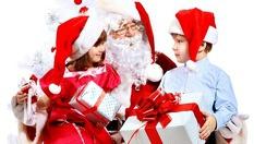 Дядо Коледа у дома