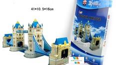 Оригинален подарък! Архитектурни 3D пъзели - Айфеловата кула, Статуята на свободата, Тауър бридж и други от 7.90 лв от АБВ Маркет