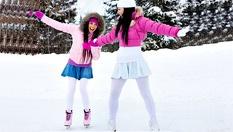 1 час забавление на лед! Обучение по хокей или кънки на лед за деца в Зимния дворец - за 8лв