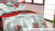 3D спален комплект за ДВОЙНО легло - за 49.99лв, вместо за 108лв от Шико - ТВ ООД. Луксозен подарък за комфорт в спалнята!