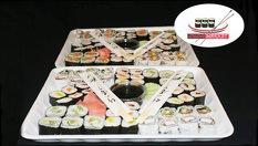 Екзотична наслада за вкъщи! СУШИ СЕТ с 64 или 100 хапки от 16.90лв, от Sushi Market