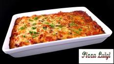 Пицария Луиджи ви предлага страхотна и бърза вечеря за цялото семейство - тава лазаня /1600гр./ само за 13.90лв