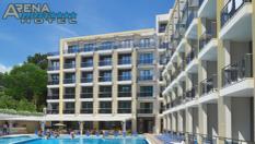 Пролетна почивка в Златни пясъци! Нощувка на база All Inclusive + СПА пакет с вътрешен отопляем басейн, от Хотел Арена Мар 4*