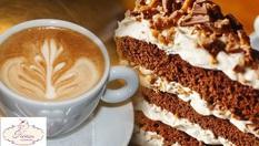 Апетитно парче торта + кафе Лаваца само за 2.60лв, от Sweeterie KOKO