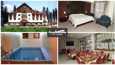 Почивка в Боровец през Септември - важи и за празниците! Нощувка със закуска и вечеря + СПА център с вътрешен отопляем басейн, от Хотел Ледени ангели 4*