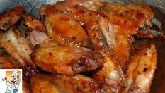 Похапнете си вкусни Пилешки крилца /700гр/ с хрупкави картофки /400гр/ или картофи соте /400гр/ само за 10.90лв, от Кулинарна къща Ники