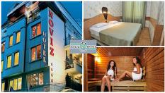 СПА почивка в Пловдив! Нощувка със закуска и вечеря + сауна с контрастен басейн и парна баня, от Хотел Новиз 4*