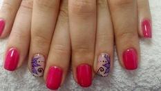 За твоите красиви нокти: Маникюр с гел лак S&A и 2 декорации само за 11.90лв, от Студио за красота MAYA