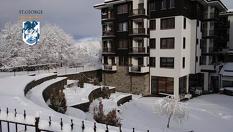 Зимна СПА почивка в Банско! Нощувка, закуска и вечеря + релакс зона и вътрешен отопляем басейн, от Хотел Свети Георги Ски и Спа 4*