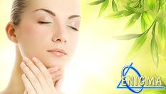Дълбоко почистване на лице в 10 стъпки, точков масаж Zensei, лимфен дренаж със студени вулканични камъни + маска на Клеопатра - за 29.90 лв, от Верига Дерматокозметични центрове Енигма