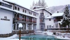 Почивка край Троян! 1 или 2 нощувки със закуски и вечери, открит минерален басейн и СПА, от Семеен хотел Алфаризорт Чифлика 3*