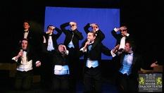 """Гледайте Христо Мутафчиев и Филип Аврамов в постановката """"Ритъм енд блус 1""""на 5 Април само за 10лв, в Малък градски театър Зад канала"""