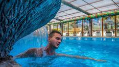 Почивка във Велинград до края на Юни! Нощувка със закуска и вечеря + СПА зона, 3 минерални басейна, фитнес и еднократна халотерапия, от СПА хотел Елбрус 3*
