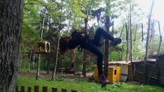 """30-минутно забавление на въжена градина """"Паяжината""""само за 3лв, от Развлекателен парк Бонго-Бонго, Драгалевци"""