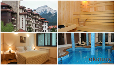 СПА почивка в Банско! 1, 3 или 5 нощувки със закуски и вечери + СПА център и вътрешен басейн, от Хотел Орбилукс 3*