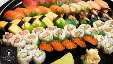 Фиш суши сет с 28 хапки