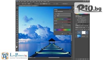 Научи бързо и лесно Photoshop и CorelDraw с месечен онлайн курс + Удостоверение за преминато обучение + IQ тест, от Lex Partners