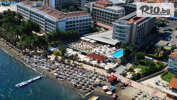 Луксозна почивка в Мармарис през Октомври! 7 нощувки на база All Inclusive в хотел Pasa Beach 4*, от Енджой Травел