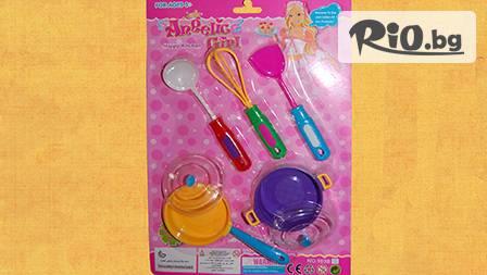 3 детски комплекта - аксесоари за игра, подходящи за момиченца, само за 4.49 лева!