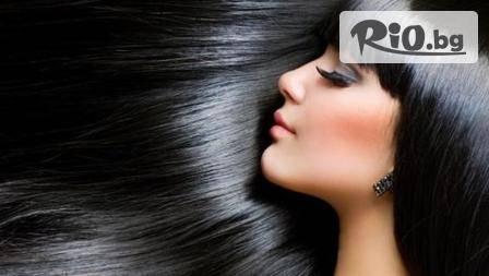 Тониране на косата, измиване, подхранваща маска, прическа, стилизиране за 12.90 лв в студио