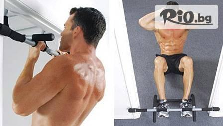Фитнес у дома с мултифункционален тренировъчен уред Iron Gym за 25 лв от Техно Стор
