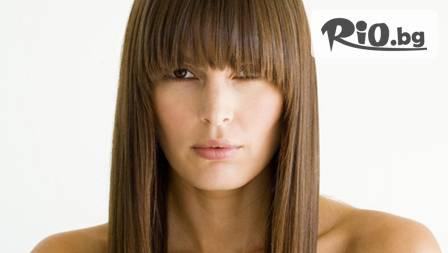 Изправяне на косата или Хидратираща терапия с инфраред преса с до 72 % отстъпка от студио