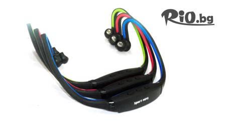 Безжични слушалки Sport MP3 с вграден MP3 player и FM радио за 16,50лв - да слушате любимата си музика от Росен и Светльо ООД