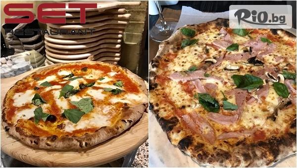 Засити глада с вкусна и хрупкава пица на пещ по избор, от Ресторант Сет - Слатина