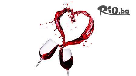 Изненадай любимата! Джакузи с чаша вино или шампанско + релаксиращ масаж за 14.49лв.