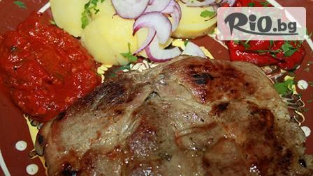 3-степенно вкусно хапване 0,800 гр. по избор с панорамна гледка към Варна от ресторант