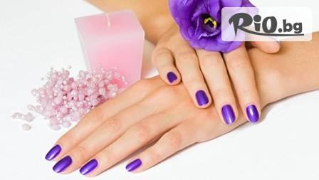СПА маникюр или педикюр с UV изпичане за трайност минимум 2 седмици от Magic Hair!