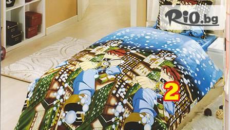 Детски спален комплект от 18,99 лв. с комикс герои по избор - 100% памук от Шико-ТВ! Спайдърмен, Бен Тен, Уинкс, Макуин и Ариел!