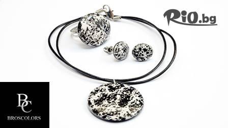Комплект керамични бижута - модел по избор от 12,25 лв. от онлайн магазин Broscolors