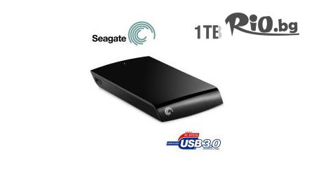 Външен хард диск Seagate - 500 GB, 1 TB или 2 TB на ТОП цена от