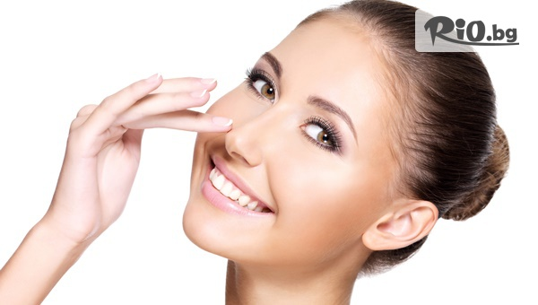 Медицинско почистване на лице и шия с диамантени накрайници 2 в 1, от Tesori Beauty Salon