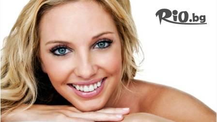 Кабинетно избелване на зъби със система Whiteness XP Blue само за 120 лв. от Д-р Първановска