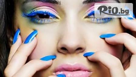 Поправка на ноктопластика + декорация на два пръста oт Relax Studio! Модна визия на ръцете!