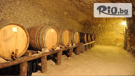 Почивка в Мелник до края на Април! Нощувка със закуска и вечеря + разходка във винарната изба с включена презентация на вина, от Хотел Славова Крепост 3*