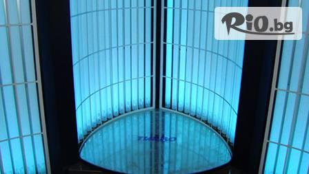 Страхотен тен с вертикален турбо солариум с отстъпка до 67% от Alin Beauty