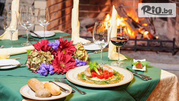 Наслади се на лукс край Разлог до края на Ноември! Нощувка със закуска и вечеря + СПА, басейни и комплимент, от Пирин Голф Хотел и Спа 5*
