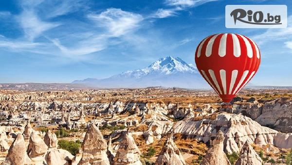 Автобусна екскурзия до Анкара, Кападокия и Истанбул! 4 нощувки със закуски и водач, от Онлайн Травъл