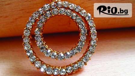 15 грама тройно позлатено нежно колие със Сваровски елементи и кристали за 6.20 лв. от elitza-kristal.com