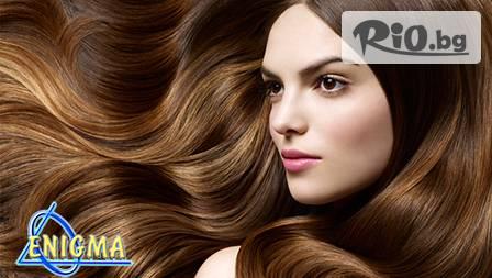 Уникална концепция за коса- Beauty Innovation - елексир за скалпа и косъма + подстригване, сешоар и стайлинг за 28.00 лв. от Веригата Дерматокозметични центрове Енигма