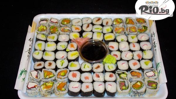 Суши сет от 60, 76 или 80 хапки