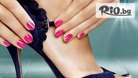 Цветни нокти! Педикюр с OPI за 11.90 лв. или лакиране за 2.99 лв. с подарък 2 декорации от Beauty zone Angel Face!