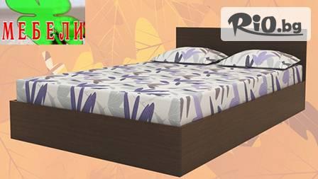 Вкарай модата в леглото! Спалня и матрак за 199 лв от Мебели