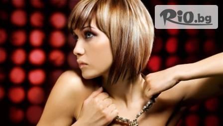 Нов стил в косите! Измиване + маска или ампула, подстригване, сешоар, дифузер или плитка по избор за 11,90 лв. от TEDI STYLE